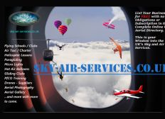 sky-air-services.co.uk would very much welcome your assistance to get our unique Aerial Directory off the ground.