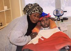 Kadiatou - Unterstützung nach dem Tod ihres Sohnes.
