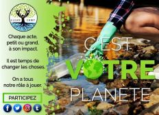 Aidez nous à agir pour préserver l'environnement !
