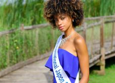 Miss International Guadeloupe direction Japon