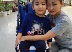 Lebenswichtiges Medikamet SPINRAZA für Dilnaz mit Diagnose Spinale Muskelartrophie