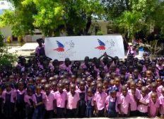 Secours Populaire Français - L'école pour 200 enfants d'Haïti
