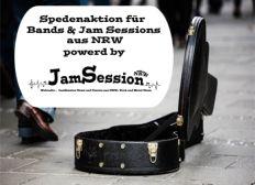 Spedenaktion für Bands & Jam Sessions aus NRW