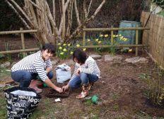 Planter un arbre pour la naissance de mon fils Naël
