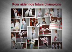 Futurs champions de Taekwondo.