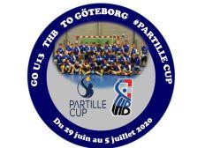GO U13 THB TO GÖTEBORG PARTILLE CUP