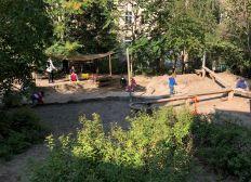 Ein staubfreier Garten für die KiTa Kinzigstraße