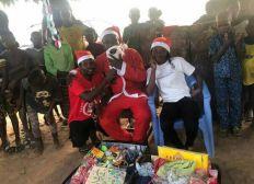 Noël pour les enfants de Davie-Tekpo