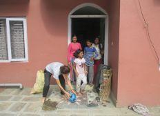 Soutien pour les filles du Népal