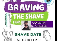 Brave The Shave Seychelles