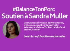 Soutien à Sandra Muller #BalanceTonPorc