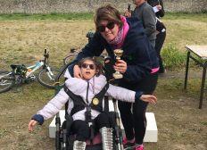 Un fauteuil hippocampe marathon pour La Magie de Léa
