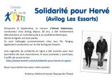 Solidarité pour Hervé et Agnès