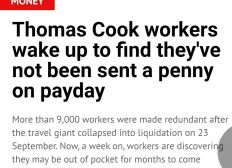 Want to help Thomas Cook Employees