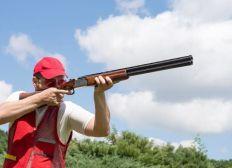 Tiro con escopeta modalidad olimpica!