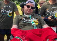 Aider Florian malade de la SLA (Sclérose Latérale Amyotrophique) à communiquer
