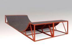Minirampe für Burbacher Skatepark