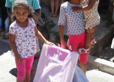 Cadeaux de Noël pour les enfants défavorisés du Brésil