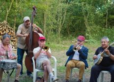 Concerts de Jazz au Bois des Plasses par l'association NOJA