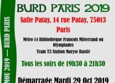 Paris - Appel à contribution Gamou - Burd 2019