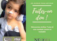 Aidez l'Association un Rêve pour Arthur