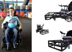 un fauteuil de foot pour Anthony