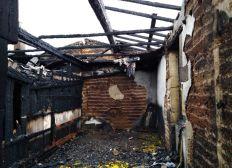 Fincement d'un mobil home après l'incendie de la maison de mon papa
