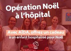 Association Aïda; Noël à l'Hôpital