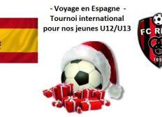 Voyage à l'étranger pour nos U12/U13 FC RETZ