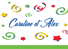 Aidons Caroline et Alexandre