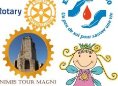 Cagnotte Rotary Tour Magne Nîmes