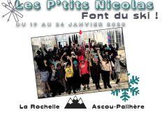 Les p'tits Nicolas font du ski !