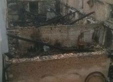 Reconstruction apres incendie