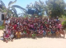 Financer le 4ème jour de cantine d'une école à Madagascar