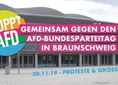 """Bündnis gegen Rechts"" Demonstration in Braunschweig (30. Nov ´19)"