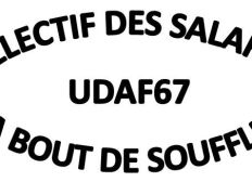 UDAF67 en grêve