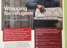 Wrapping for Refugees