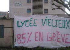 Solidarité grévistes Vieljeux