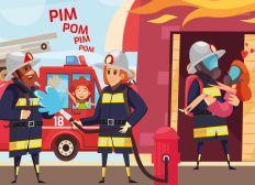 CJD - Oeuvre des Pupilles - Pompier