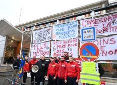 Soutien Grève Main Sécurité de l'hôpital de Montauban