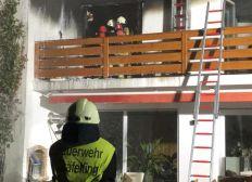 Hilfe nach Hausbrand in Gräfelfing