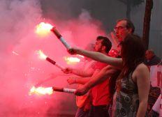 Solidarité avec les cheminots grévistes de Paris Gare de Lyon