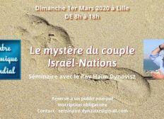 Séminaire du Rav Dynovisz à Lille le 1er Mars 2020