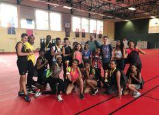 Les athlètes du collège Mille Roches au Championnat de France Circuit Training UNSS