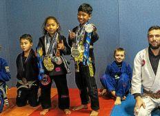 Panam Kids de Jiu Jitsu pour Darryl et Mëhina