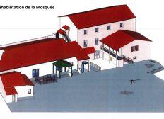 Aidons la mosquée al hidaya à Montélimar