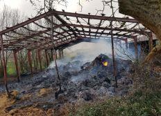 Incendie GAEC Lemaitre