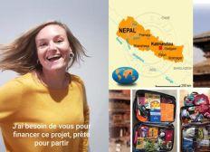 Gazelle au Nepal 2021