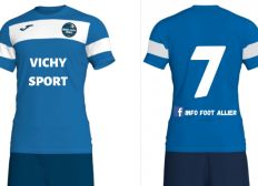 Maillots «Info Foot Allier»