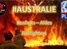 Australie: Renfort- Aide- firefighter